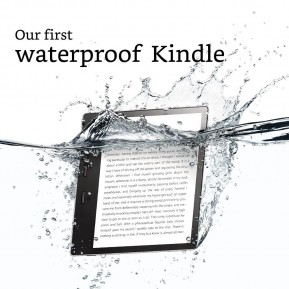 "Kindle Oasis 2017, 7"" дисплей, 300ppi, Водоустойчив, Audible, Wi-Fi, 32GB"